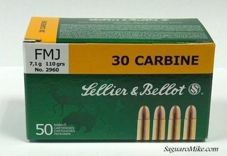 Ammunition - 30 Carbine