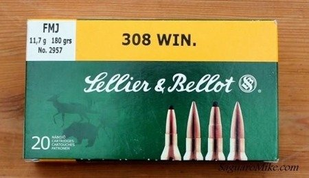 Ammunition 308 Win FMJ, 20 pcs