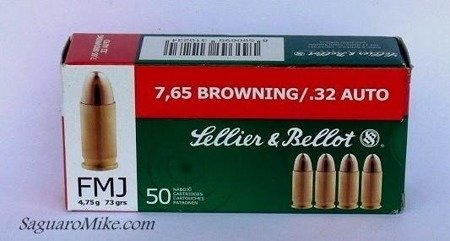 Ammunition: 7.65 Browning