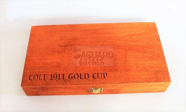 Box  for pistol 19 - Colt 1911 Gold Cup