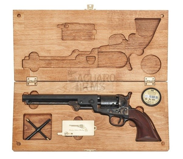 Box  for revolver 7 - Colt Navy 1851 Uberti , Pietta