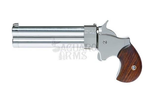 "Derringer .45 4,5"" chromed"