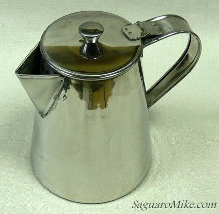 Tinware Coffee Pot