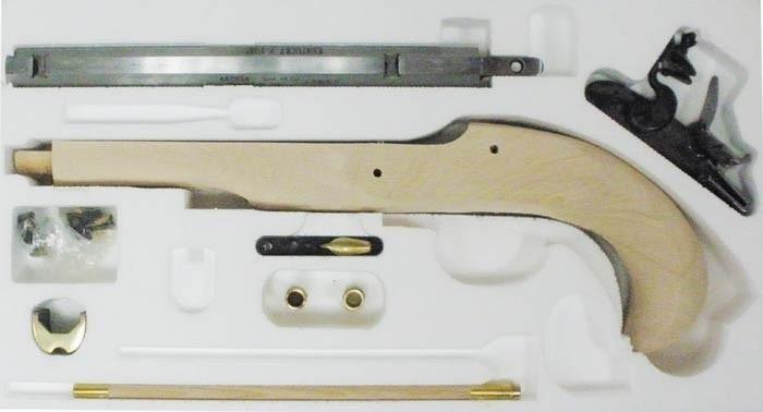Kentucky Kit -flintlock pistol