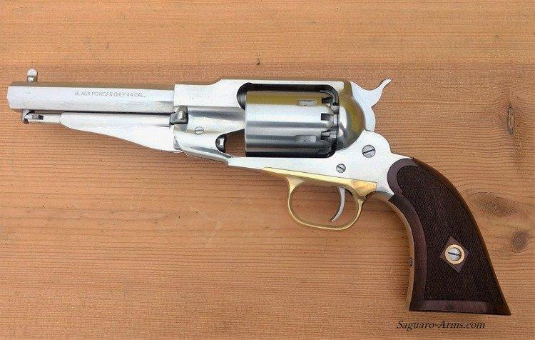 remington sheriff checkered grip 44 inox rgssh44lc historical