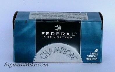 Amunition .22LR Federal HV-50pcs