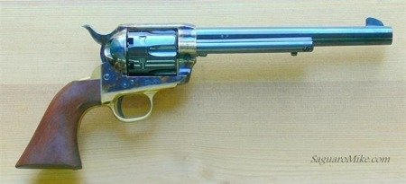 Black Powder Revolver Colt SA73-061 1873 7,5""