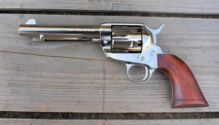 Black Powder Revolvers Colt SAA1873 .44 percussion nickel 5,5""