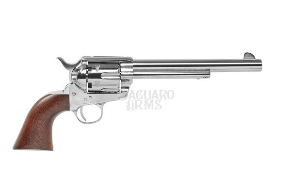 "Black Powder Revolvers Colt SAA1873 .44 percussion nickel 7,5"" SA73-201 Pietta"