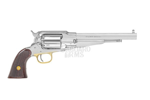 Black Powder Revolvers Remington 1858.44  INOX checkred grip RGS44LC