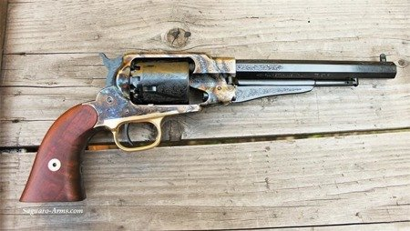 Black Powder Revolvers Remington DeLux RGOLCH44 Pietta