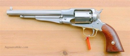Black Powder Revolvers Remington New Model Army INOX