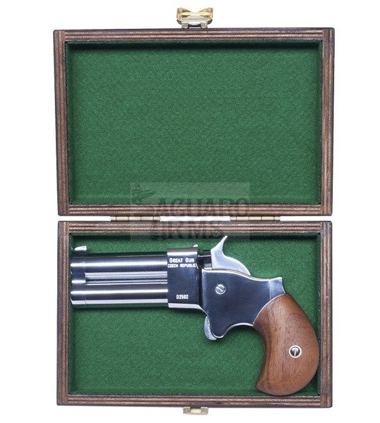 "Derringer .45 2,5"" chromed Great Gun"