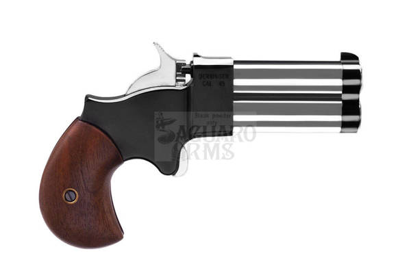 "Derringer .45 2,5""  chromed strigger ,hammer and barrels"