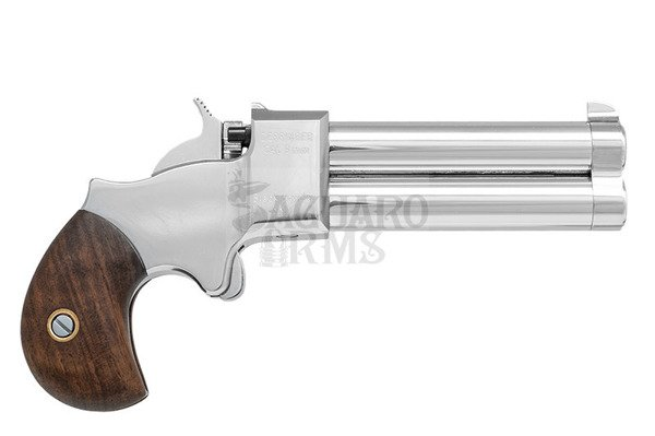 Derringer 9mm 3,0 chromed Great Gun
