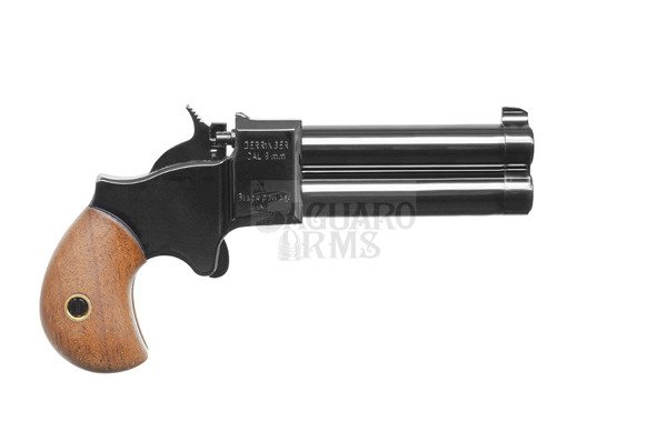 "Derringer 9mm 3"" black"