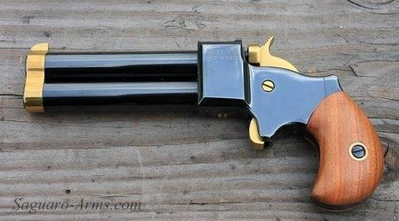 Derringer 9mm 3'' hammer, front sight,trigger TiN