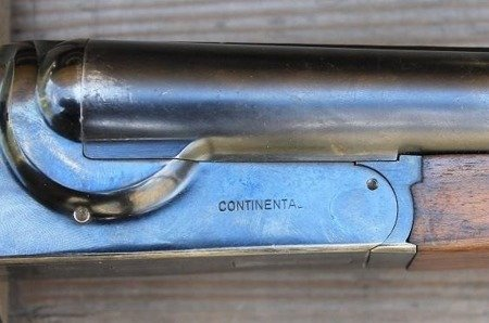 English shotgun -Continental, cal 12ga