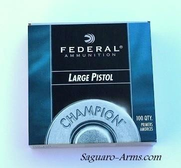 Federal Large Pistol  150 Primers