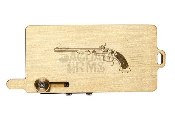 Gold Capper Pistol engraving