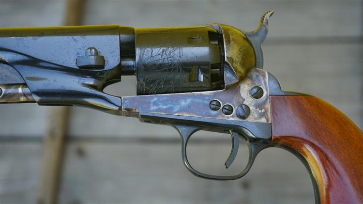 Rewolwer czarnoprochowy Colt Navy 1861 .36 0050