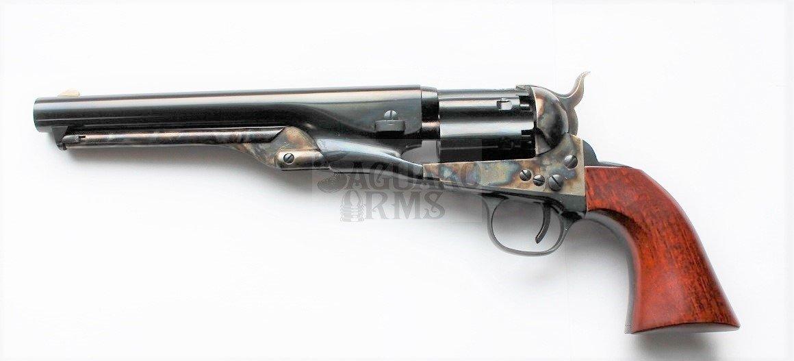 Rewolwer czarnoprochowy Colt Navy 1861 kanelowany .36 0051 Uberti