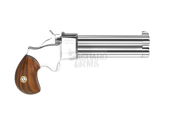 Pistolet czarnoprochowy Derringer 9mm 3,5 chrom Great Gun